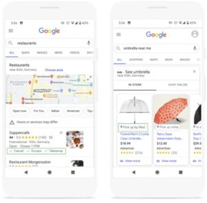 Google Shopping Listings - Soulpepper Digital Marketing