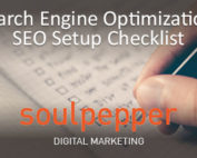 Search Engine Optimization Setup Checklist | SEO | Soulpepper Digital Marketing