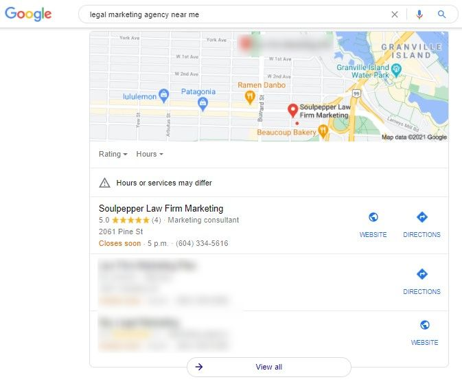 Local SEO: Local Pack Results in Google | Soulpepper Digital Marketing